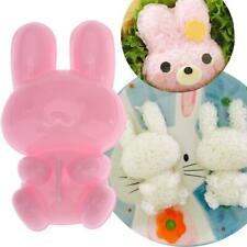3D Cartoon Rabbit Rice Roll Ball Mold Kits DIY Sushi Maker Bento Mould Tool