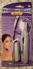 Finishing Touch Lumina Personal Hair Remover New In Package (Silver)
