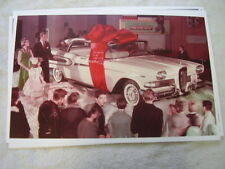 1958 FORD EDSEL DISPLAY      COLOR   11 X 17  PHOTO  PICTURE
