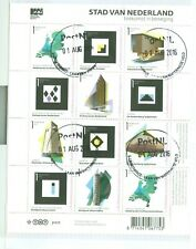 The Netherlands * Complete Sheet Of Towns * Cancelled At Postoffice 2802-12