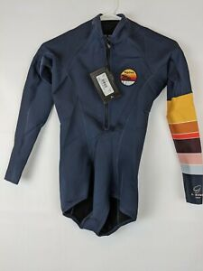 Rip Curl G Bomb Long Sleeve Wetsuit, Blue, Women's 8