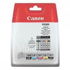 Canon PGI-580/CLI-581 BK/CMYK Multi Pack Blister 5-farbig