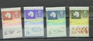 British Antarctic Territory 39 - 42, mint NH