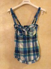 Abercrombie And Fitch Corset Cami Plaid XS $135