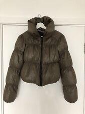 All Saints Chatel Puffa Soft Winter Puffer Down Jacket Size 8 - XS / S Cropped