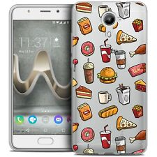 Coque Gel Pour Wiko U Feel PRIME Extra Fine Souple Foodie Fast Food