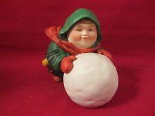 Dept 56  Merry Makers  SEBASTIAN THE SNOWBALL MAKER  NIB  (916SH)  93670