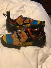 La Sportiva Mens Climbing Shoes Size 8.5 (41)Model Oxygym- Lightly Used