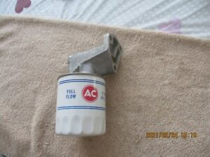 NOS AC PF-30 OIL FILTER AND ADAPTOR