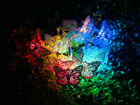 3M 20 LED RGB butterfly String Fairy Lights USB Christmas Tree Party Wedding