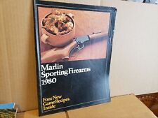 1980 Marlin Sporting Firearms Gun Catalog
