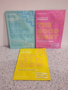 Patchology Sheet Mask Trio: Just Let It Glow, Get Dewy With It, The Good Fight
