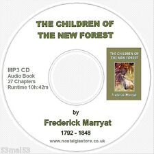 Audio Book MP3 CD - The Children of the New Forest by Frederick Marryat