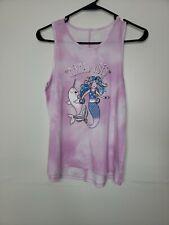 New Tags Wonder Nation Girls XL Plus 14-16 Pink Tie Dye Mermaid Vibes Slit