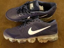 new product 819ec 549ce MEN S NIKE AIR VAPORMAX FLYKNIT  Size 12   DARK BLUE (BUT FIT MORE LIKE