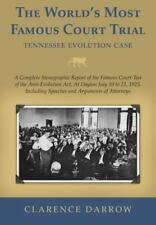 The World's Most Famous Court Trial, Tennessee Evolution Case : A Complete...