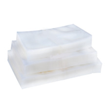 Food Vacuum Sealer Bags Clear Plastic Glossy Pouches Various Sizes