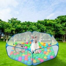 Portable Pet Playpent Small Animal Cage Game Playground Fence for Hamster Indoor
