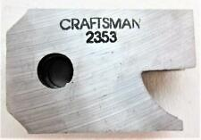 CRAFTSMAN 2353 Cabinet Door Lip Cutter 3 Blades