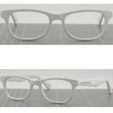 Damenbrille Brillengestell Weiß Eckig Silberdetails Plastik Brillenfassung Optik