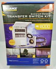 Reliance Controls 8000 Watt Generator Back Up Power Transfer Switch Kit 3006hdk