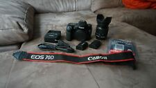 Canon EOS 70D Camera with EF-S 18-55mm f/4-5.6 IS STM Lens - Black