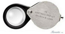 BAUSCH & LOMB HASTINGS TRIPLET MAGNIFIER 7X 81-61-68