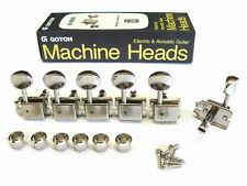 "Original ""Gotoh"" SD 91 Mechaniken/Tuner Vintage oval 6links"