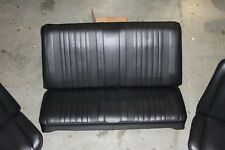1970 70 CHEVELLE COUPE NEW BLACK REAR SEAT COVERS