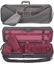 Bobelock Featherlite 4/4 Violin Case: Wine Velour