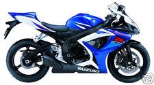 Suzuki retocar Pintura Gsxr600/750/1000 Splash blanco.