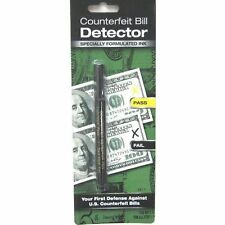 12 Counterfeit Bill Detector Pens Single-Packs