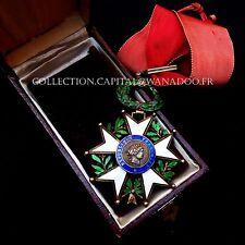 Croix de COMMANDEUR de la Légion d'Honneur IV République Argent/Vermeil et émail