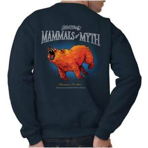 Gill McFinns Cartoon Mythical Fish Mammals Womens or Mens Crewneck Sweatshirt