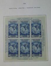 Farley Special Printing Scott #735 Imperorate Byrd Antarctic Sheet, 2012 CV $19