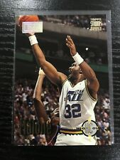 1993-94 Topps Stadium Club High Court Karl Malone 1st Day Issue #174