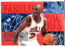 Michael Jordan 1995-96 Fleer Ultra Fabulous Fifties Card #5