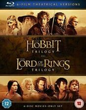 Hobbit Trilogy/The Lord Of The Rings Trilogy (6 Blu-Ray) [Edizione: Regno Unito]