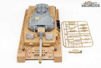 Neu ! Taigen Heng Long Panzer 4 Oberwanne mit Metallturm Turm 360 ° RRZ IR 1:16
