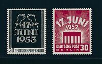 Berlin 1953, Mi. 110-11 **, tadellos!