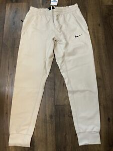 Nike NSW Sportswear Tech pack Knit Jogger Pants Light Bone Size M New BV4452-094