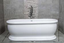Aldrop 1745mm Free Standing Bath
