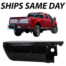 NEW Primered Drivers Left LH Rear Bumper End 2008-2016 Ford F250 F350 Super Duty