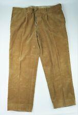 Pantalon mesure velours bespoke custom-made trousers t. 56 (size 46'' UK) XXXL