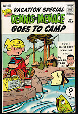 First Printing DENNIS THE MENACE GIANT VACATION SPECIAL 9 CAMP High Mid Grade