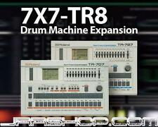 Roland 7X7-TR8 Drum Machine Expansion for AIRA TR-8 eDelivery JRR Shop