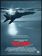 TOP GUN__Original 1987 Trade AD promo / Oscar AD__Best Sound Effects Editing_FYC
