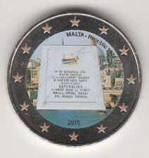 --  2 EURO COULEUR / MALTE 2015B -- PROCLAMATION DE LA REPUBLIQUE