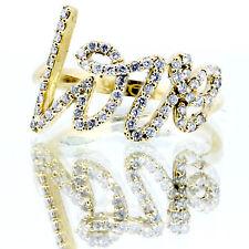 .31 Carat Diamond Love Cocktail Ring 14k Yellow or White Gold