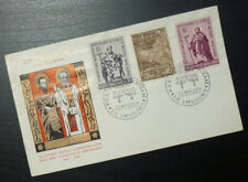 Italy 1963 Special Cancel Cover -Vatican FDC Cyril And Methodius Apostolate BAA5
